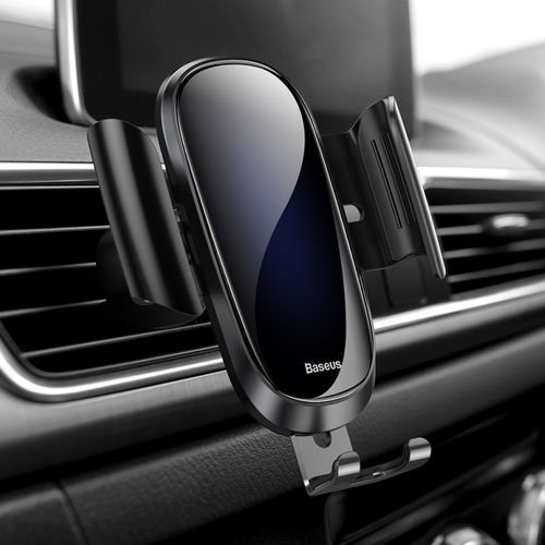 Baseus Future Gravity Glass Surface Car Air Vent Mount Phone Holder